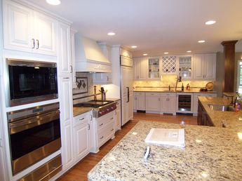 Years of experience in remodeling kitchens and bathrooms of any shape and size. (7)